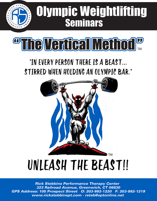 """The Vertical Method"" – UNLEASH THE BEAST!!"